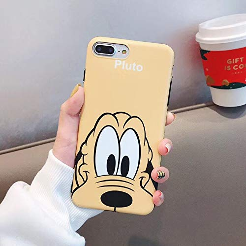 Cartoon Cute Pluto Goofy Dog Case for iPhone X Xs Max Xr 8 7 6 6s Plus Luxury Soft TPU Phone Cover Coque capa (2, for iPhone 7 or 8 Plus)