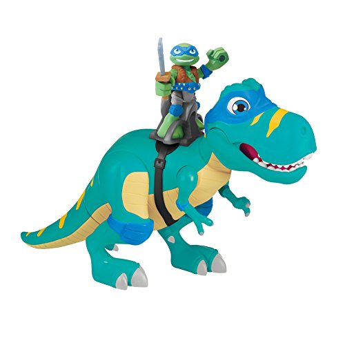 Teenage Mutant Ninja Turtles Pre-Cool Half Shell Heroes T-Rex Vehicle /& Figure