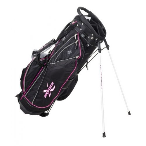 Tour Edge Exotics Xtreme2 Golf Stand Bag, Black/Hot Pink