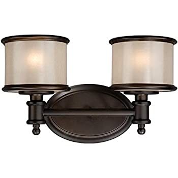 amazon bathroom light fixtures vaxcel usa crvlu002nb carlisle 2 light bathroom vanity 15379