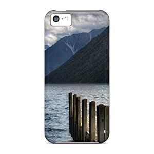 Perfect Fit JqdHVSU7462CRFCh Dock On A Mountain Lake Case For Iphone - 5c
