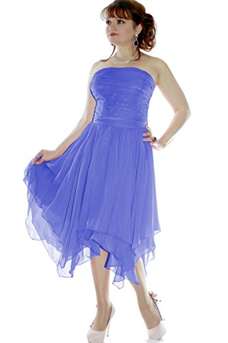 Christine Cocktail Blau amp; Juju 635111720419 Größe Abendkleid Damen 34 Farbe CwABq5SB