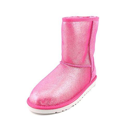UGG Unisex 1002495Y Classic Glitter Boots Big Kids Style, Fuchsia, 5 -
