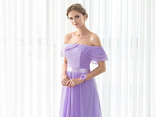 Vimans -  Vestito  - linea ad a - Donna Light Purple-Style 3 46