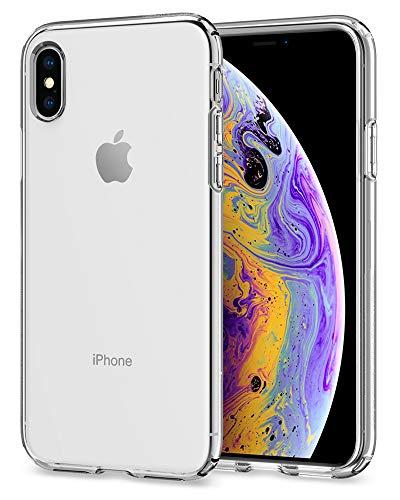 Spigen Liquid Crystal Designed for Apple iPhone Xs Case (2018) / Designed for Apple iPhone X Case (2017) - Crystal Clear