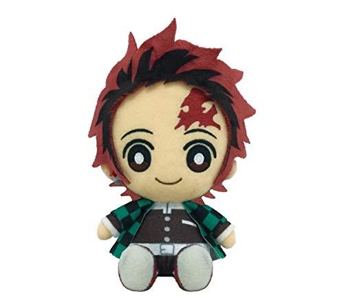 Demon Slayer Kimetsu No Yaiba Tanjiro Kamado Chibi Plush Doll Mini Anime Japan Ebay