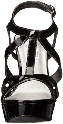 Touch Ups Women's Queenie Platform Dress Sandal Black rn1YV3Wi