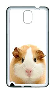 Samsung Note 3 Case,VUTTOO Cover With Photo: Guinea Pig For Samsung Galaxy Note 3 / N9000 / Note3 - TPU White Soft Case