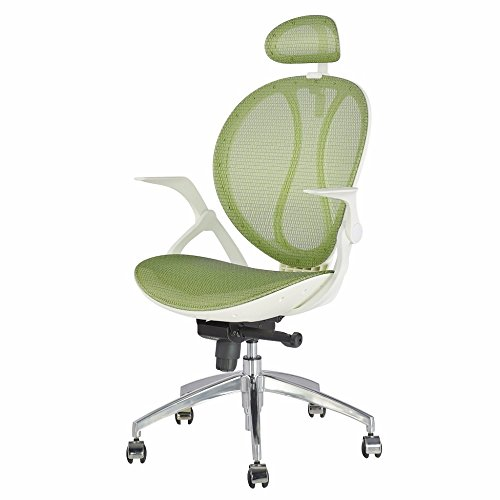 Swivel 3 Position Locking Executive Seat Furniture Chair Headrest Armrest Mobility Desk without Feeling Hot and Sweaty