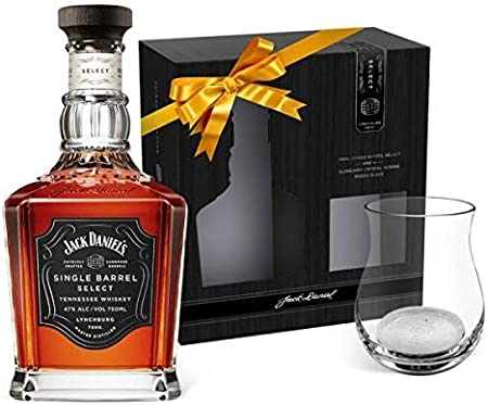 Jack Daniel's Jack Daniel'S Select Single Barrel Tennessee Whiskey 45% Vol. 0,7L In Giftbox With Nosing Glass - 700 ml