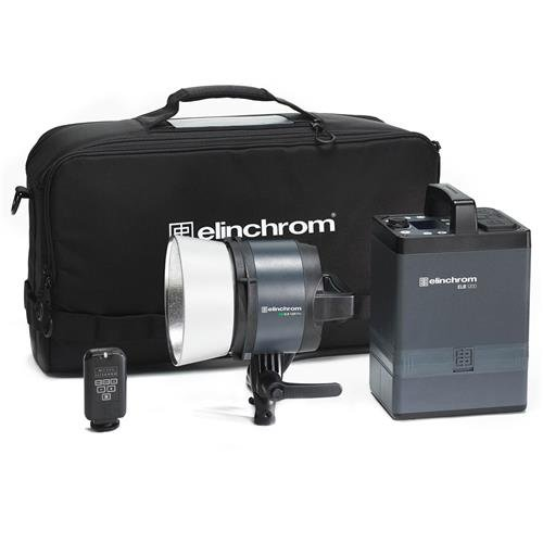 Elinchrom ELB 1200 Pro To Go Kit with Portable Power Pack, Air Battery, and Pro Head (Pro Flashtube)