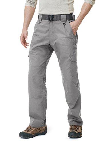 CQR CQ-TLP104-STN_28W/30L Men's Tactical Pants Lightweight EDC Assault Cargo TLP104 -