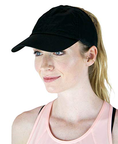 ChicPlay Active - Ponytail Messy Bun Baseball Cap for Women | The Ultimate Ponytail Hat -