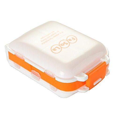 FaSoLa Portable Pill Case Orange product image