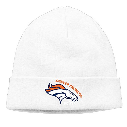 [Caromn Denver Football Team Power Beanies Skull Ski Cap Hat White] (Frank Miller Batman Costume)