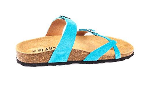 Turquoise Plakton Des Des Mules De Plakton Femmes qzwgnwXOp