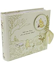 Happy Homewares Disney Winnie The Pooh Album with Images of Pooh, Piglet, Tigger and Eeyore - Officially Licensed