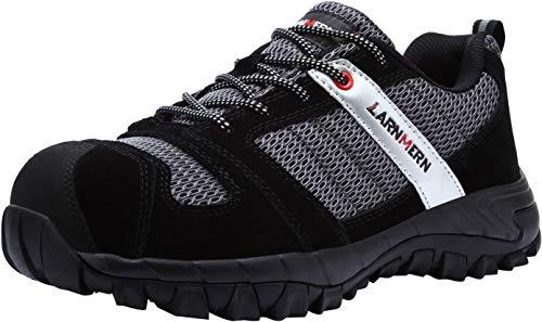 LARNMERN Work Shoes for Men, LM-18 Men