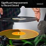 Acrylic Turntable Mat - OrangeLit - LP Slipmat