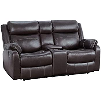 Amazon Com Homelegance Marille Reclining Loveseat W