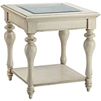 Stein World Furniture Delphi End Table, White