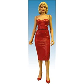 Battlestar galactica six red dress