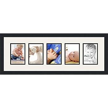 Amazon.com - ArtToFrames Collage Photo Frame Single Mat with 5 - 5x7 ...