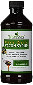 Pure Yacon Syrup ★ Rich Flowing and Silky Smooth Blend ★ Best Alternative to Sugar and Maple Syrup ★ Delicious Sweet Taste and NO GUILT ★ With Natural Prebiotic FOS Fiber ★ Low Calorie and Low-Glycemic Blend with No Additives or Preservatives ★ 8 Fluid Ounces ★Fully Guaranteed By NatureCove
