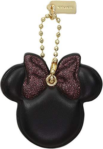 COACH Women's Boxed Minnie Mouse Bow Hangtag Disney x COACH Li/Black One Size