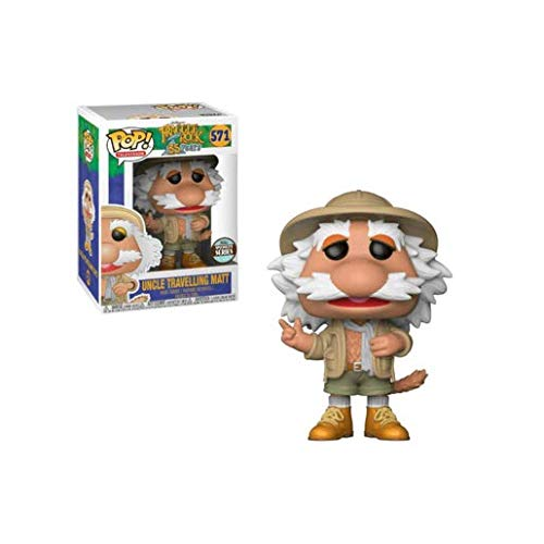 (Pop! TV: Fraggle Rock Uncle Traveling Matt Figure Standard)