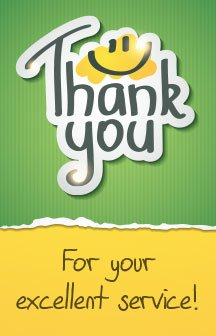 Thank You For Your Excellent Service! (Packet of 20, NKJV) (Jesus Did Not Come To Be Served)