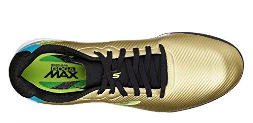 Turf D Skechers Shoe Hexgo Soccer Men's Black 7 Gold M Performance qttfwF