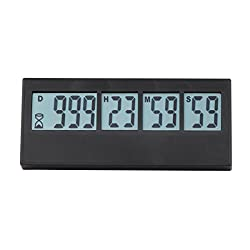 Digital Countdown Days Timer - AIMILAR 999 Days Count Down Timer for Vacation Retirement Wedding Lab Kitchen ( 3-Year Warranty)