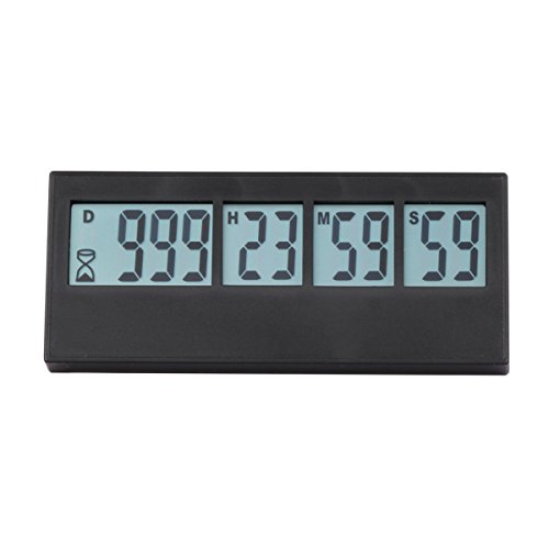 Digital Countdown Days Timer - AIMILAR 999 Days Count Down Timer for Vacation Retirement Wedding Lab Kitchen ( 3-Year Warranty) ()