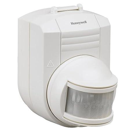 Honeywell RCA902N Inalámbrico Blanco - Sensor de movimiento (Inalámbrico, 12,2 m, Batería, 1 año(s), Alcalino, 9 V): Amazon.es: Bricolaje y herramientas