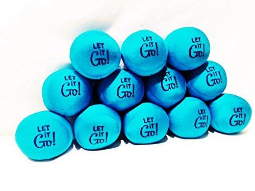 Lavender Luvies Lavender Stress Balls, Let it Go - 12 Pack