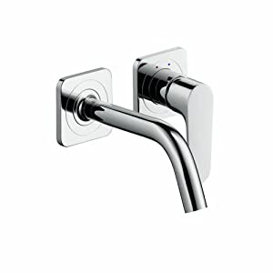 Axor 34115001 Citterio M Wall-Mounted Single Handle with Baseplate, Chrome