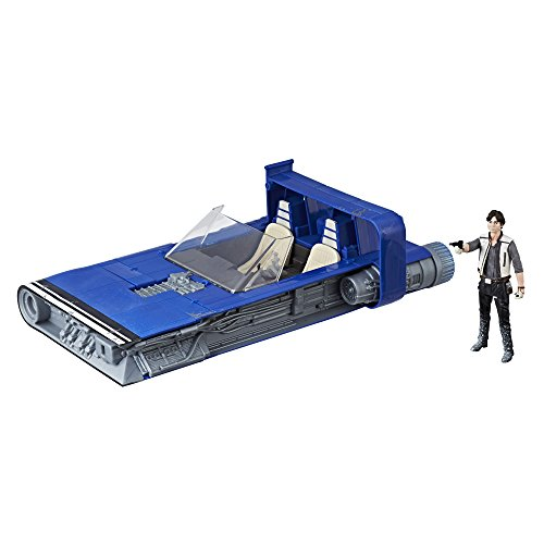Star Wars Force Link 2.0 Han Solo Landspeeder and Figure (Star Wars Fighter Pods Toys R Us)