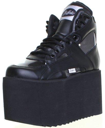 Buffalo 1300-10 - Zapatillas de cuero para mujer negro Black Bk13: Amazon.es: Zapatos y complementos