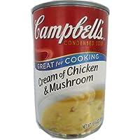 Campbell金宝牌鸡肉蘑菇汤305g (美国进口)