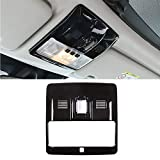 YIWANG Inner Roof Front Reading Light Cover Trim 1Pcs for Land Rover Range Rover Sport 2010-2015Car Accessory (Black)