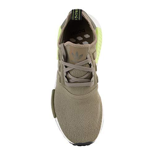 new arrival 28e13 9d181 adidas Men's Originals NMD R1 Grey/Grey/Solar Red Mesh ...