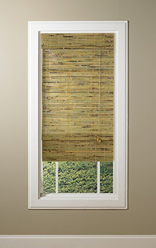 Lewis hyman 0243235 kona roman shade 35 inch wide by 72 for Roman shades for wide windows