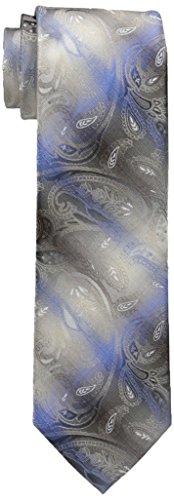 Van Heusen Men's Passion Paisley Tie, Taupe, One Size ()