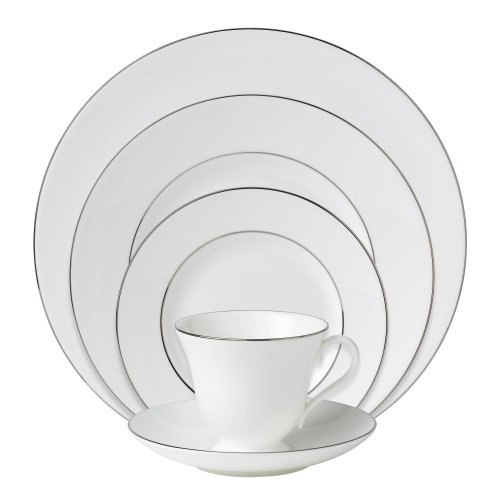 Wedgwood Signet Platinum 5-Piece Dinnerware Place Setting, Service for 1