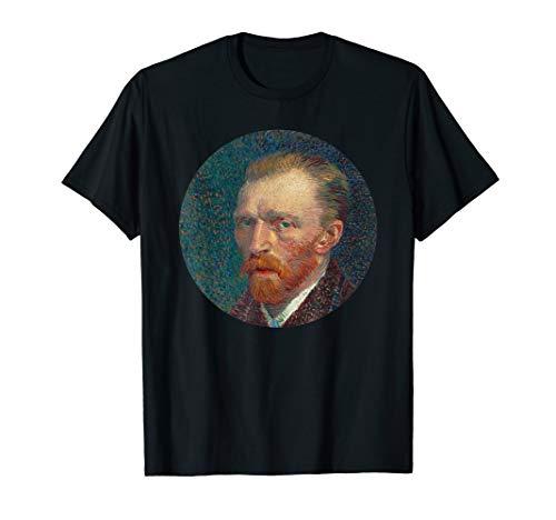 Self Portrait T-shirt - Vincent van Gogh Self-Portrait T-Shirt