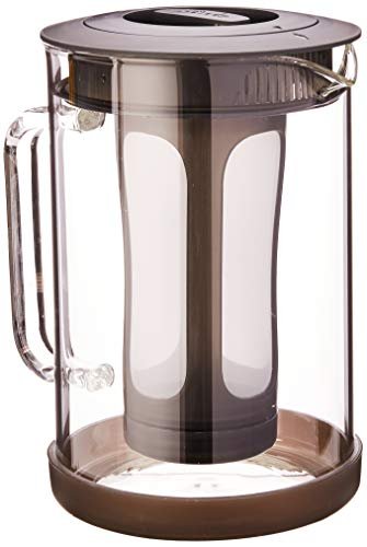 Primula PCBBK-5351 51 oz Black Pace Cold Brew Iced Coffee Maker,