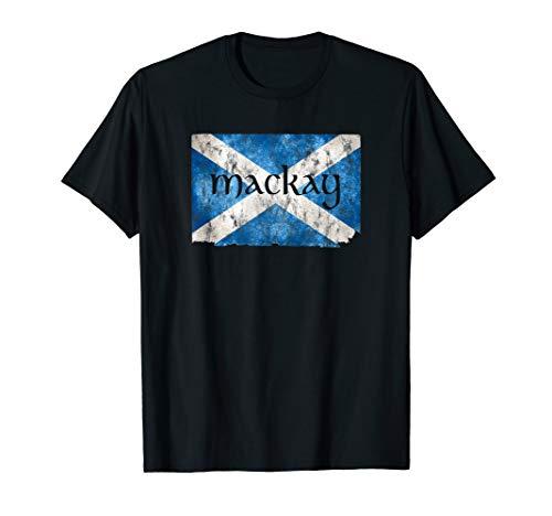 MacKay Scottish Clan Name Scotland Flag Shirt