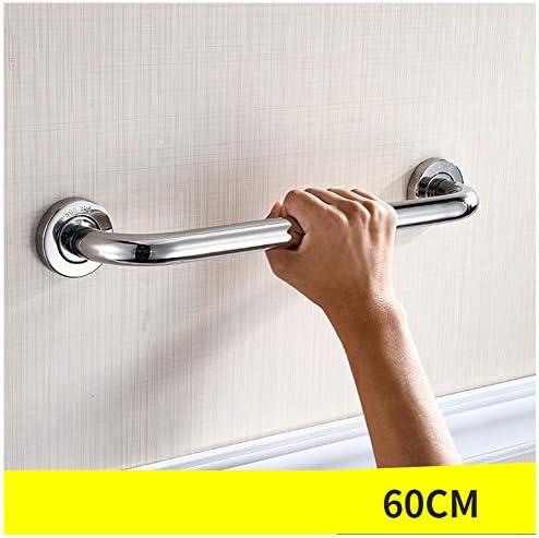 浴室のサポートハンドル、304ステンレス鋼の手すり、バリアフリー高齢者浴室のハンドル、バスルーム障害者階段アンチスキッドハンドル,60cm
