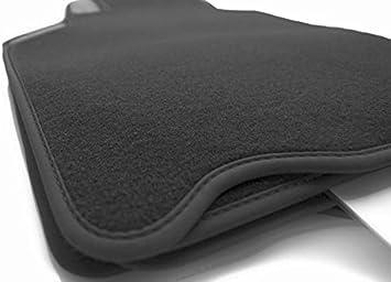 Fußmatten 996 Premium Velours Nubuk Rand Automatten Original Qualität 4 Teilig Schwarz Auto